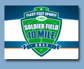 Soldier Field 10 mile - May 25, 2013